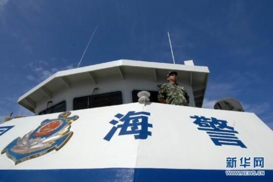 港媒:中国海警首次携带武器巡航南海加强执法