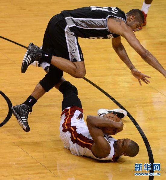 NBA总决赛第六场 热火对阵马刺图片