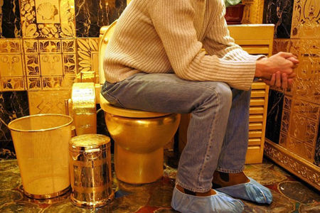 香港黄金厕所价值连城
