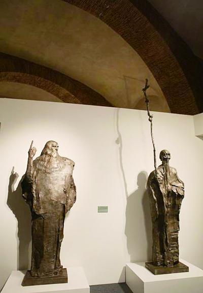 �_�R��家博物�^收藏中��雕塑家��樯阶髌�