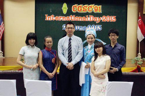 """泰国孔子学院参加泰陆军参谋学院""""国际日""""活动"""