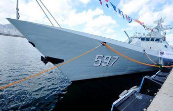 新护卫舰入列驻港部队隐身性能好作战能力强(图)