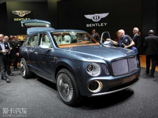 宾利首款SUV有望9月发布 将定名Falcon