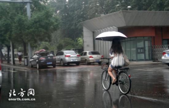 天津强降雨接踵而至+前半周雨一直下