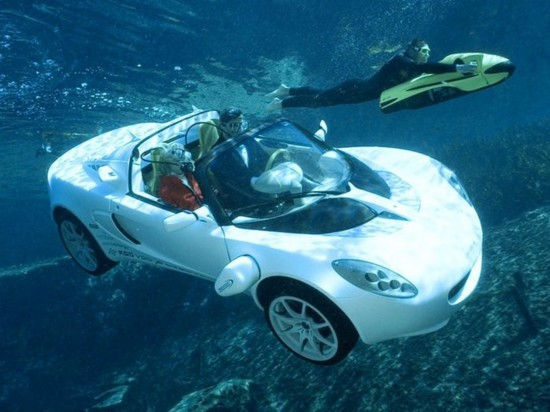 水陆两栖 的超豪华跑车 人民网汽车 中国汽车社会的引领者高清图片
