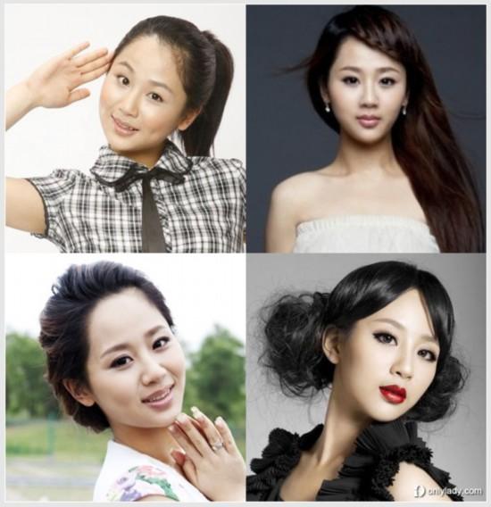 周冬雨复古发型出镜 国内90后女星成熟大变身图片