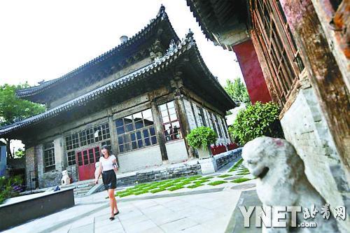 修复后的智珠寺
