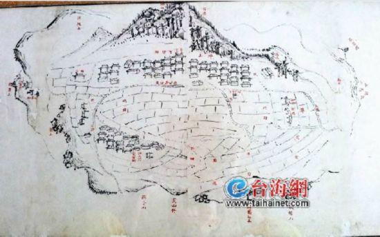 石狮博物馆惊现清朝手绘地图?见证当时安乐石狮