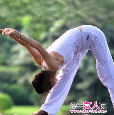 拱桥式瑜伽 -瘦身瑜伽五步骤 练就S曲线