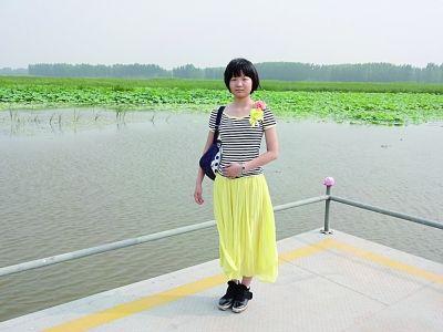 考上东大的13岁小姑娘宋文清。图片由本人提供