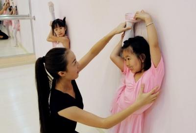 教学儿童基本功课程舞蹈_视频网儿童车站轨道城市交通设备图片