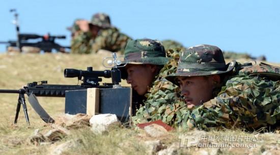 解放军特种部队狙击战斗模式曝光