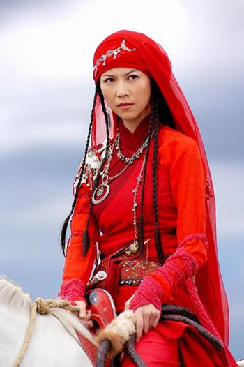 剧版《七剑下天山》飞红巾——蔡少芬