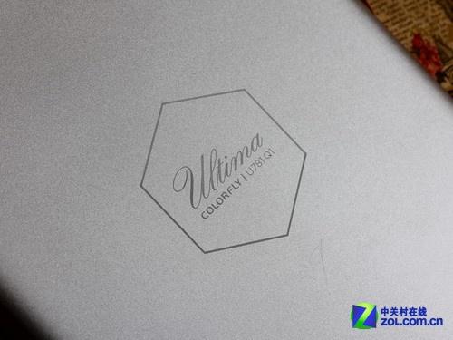 U781 Q1銀色 背面logo圖