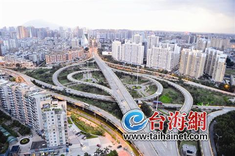 漳州市区未来规划建多座立交桥