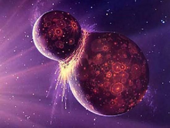 """地球曾拥有一个名叫""""忒伊亚""""的姊妹行星"""
