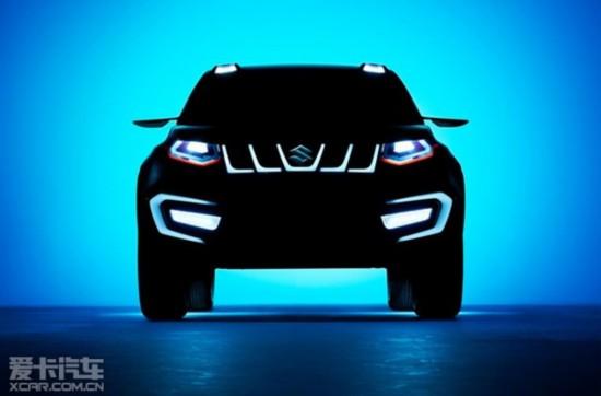铃木iV-4概念车预告图 将今年9月发布