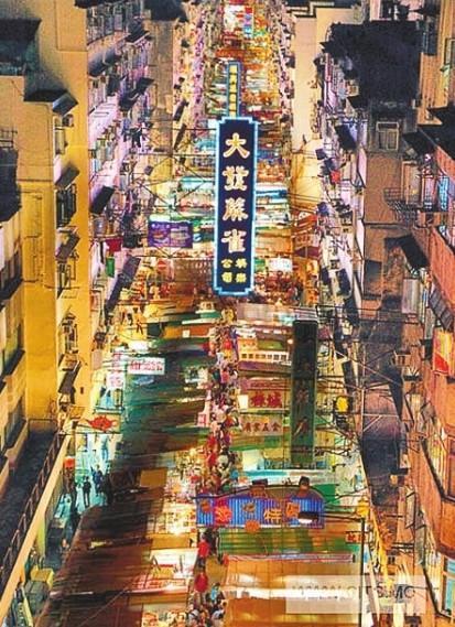中国香港庙街