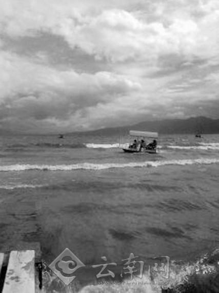云南 抚仙湖/抚仙湖溺水救援很困难游客务必穿救生衣