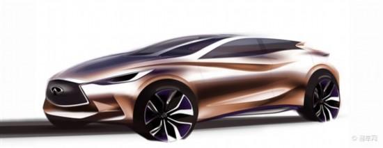 英菲尼迪Q30概念车将于法兰克福车展首发