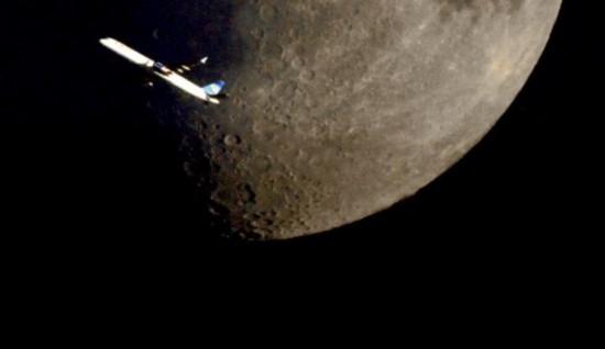 登月亮的遐想作文