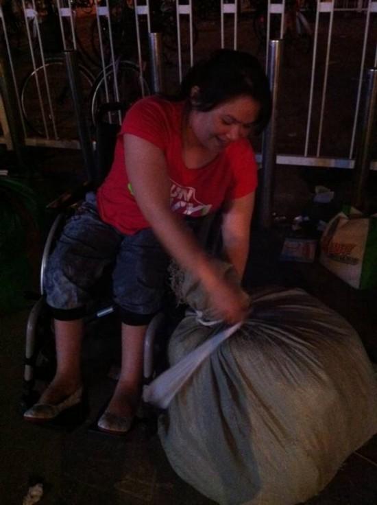 《轮椅妈妈的中国梦》