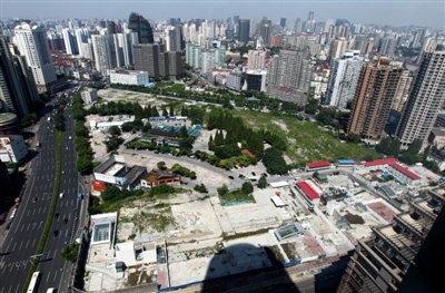 上海天价地王空置18年 几经易主价格涨近170倍