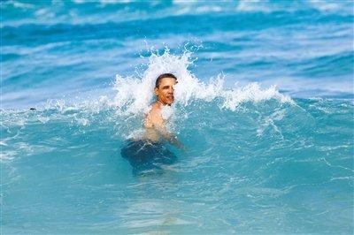 盘点各国领导人休假:奥巴马被指8天花760万美元
