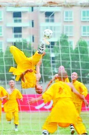 少林足球學校耗資20億 少林寺否認有關系