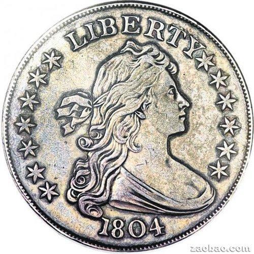 """一枚号称""""硬币之王""""、面值一美元的罕见美国银币,日前以380万美元的高价卖出。"""