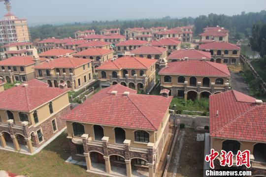 郑州黄河边再现神秘别墅群对外称村民安置房(图)