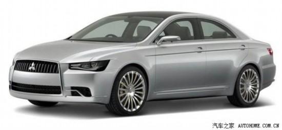 三菱新一代戈蓝概念车或于11月发布