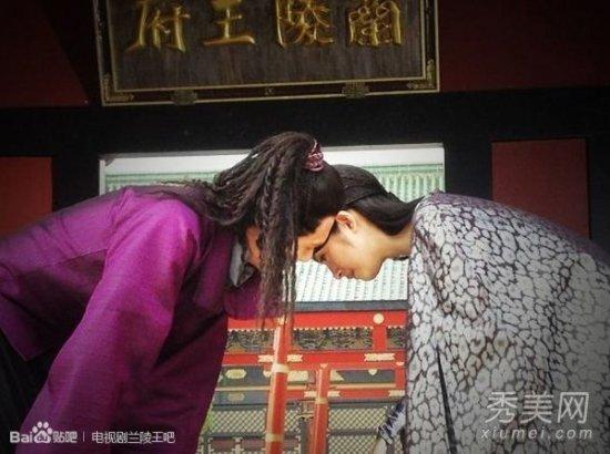 兰陵王 冯绍峰林依晨幕后卖萌 诱惑吻戏曝光