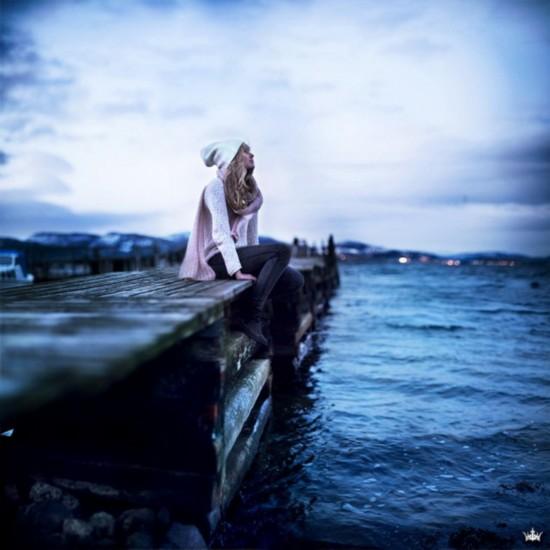 创意 欣赏 17岁/原标题:17岁美少女的梦幻自拍:北欧人像摄影组图
