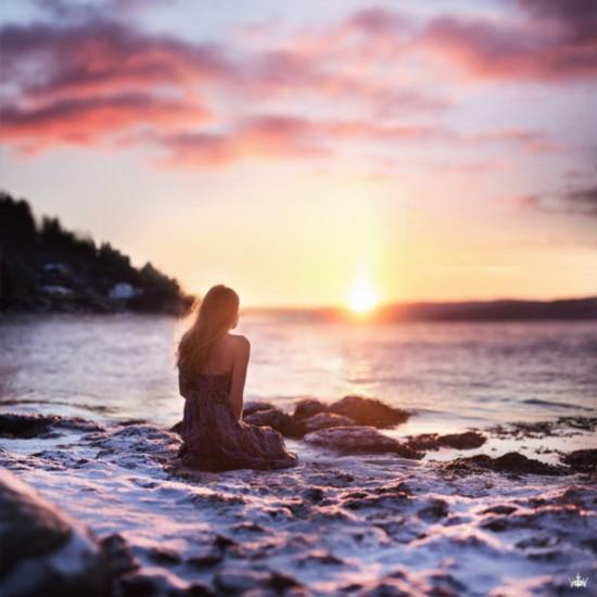 创意 唯美 17岁/Vilde Indrehus 是来自挪威的一位17岁摄影师,在Instagram社群...