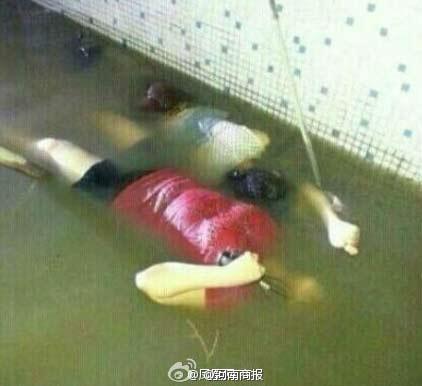 广东普宁水灾惨状:小城被淹水上漂浮女尸