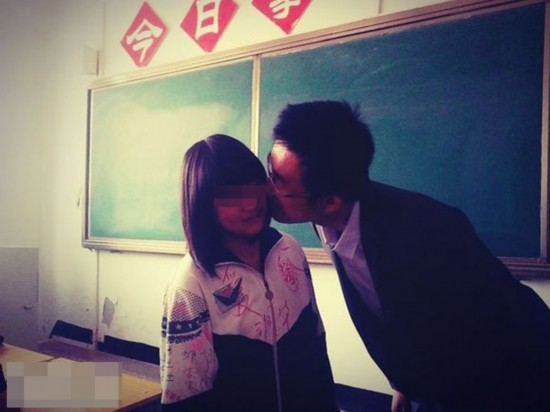 高清:甘肃一中学老师用毕业证要挟女生亲吻 已