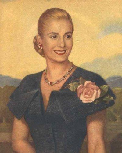 贝隆夫人   作为阿根廷前总统贝隆的夫人,伊娃·贝隆死后被...