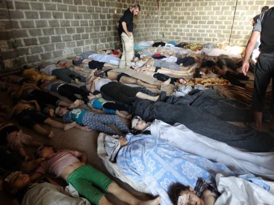 叙利亚政府军用毒气弹杀害1300人 含数百儿童