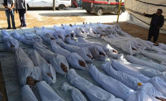叙政府军被指用化武杀数百人含儿童 叙官方否