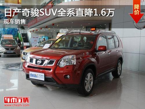 万元 一周热门SUV降价排行榜高清图片