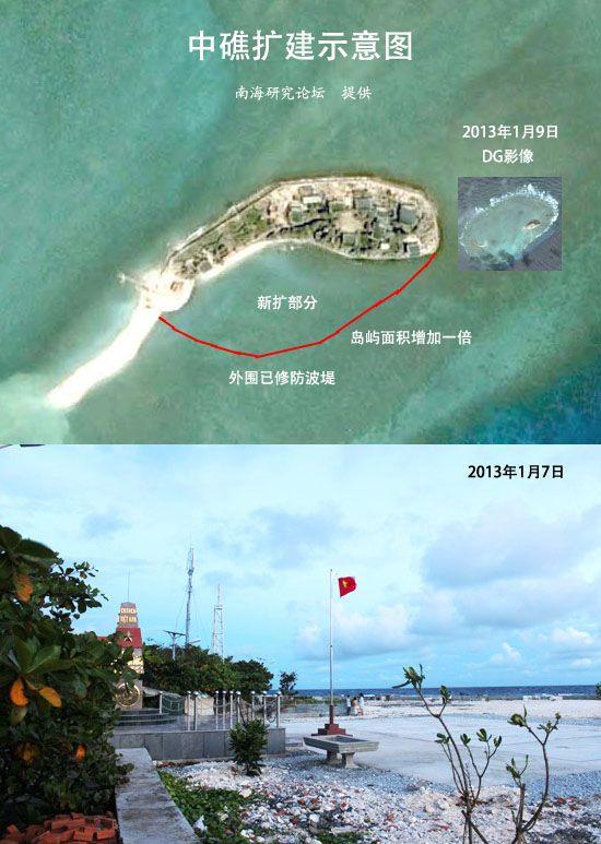 现将南沙群岛上被越南非法侵占的主要岛礁情况介绍如下