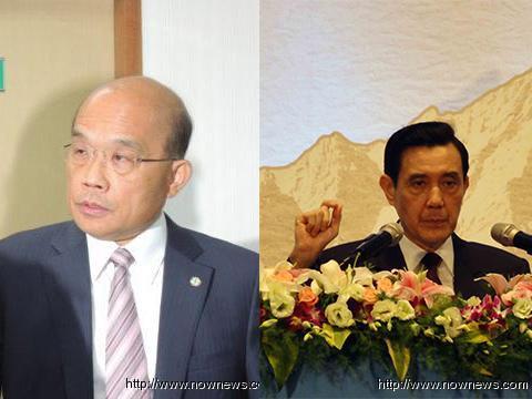 马苏将辩服贸协议 罗智强劝苏贞昌接受媒体提问