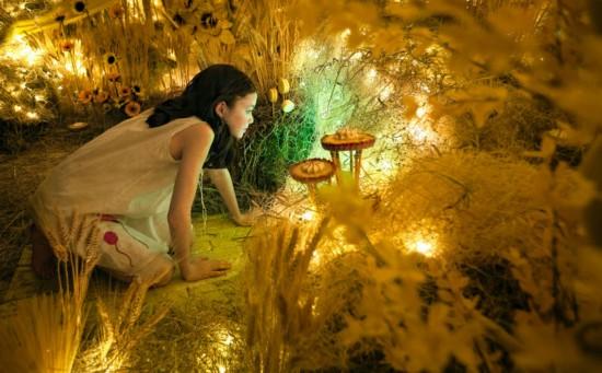 美少女的色彩世界奇幻之旅组图