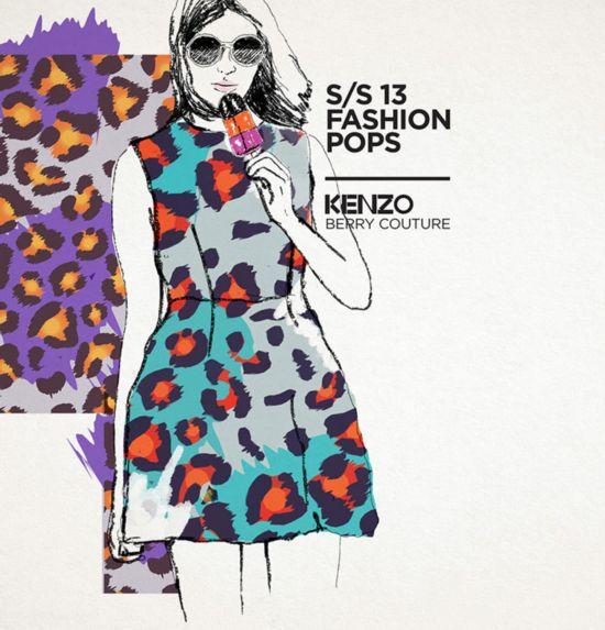 迪拜设计师推出奢侈品牌LOGO冰棒 创意十足