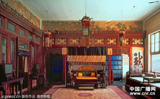 内部则如中国古代皇宫图片