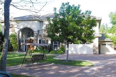 张曙光在美国的豪宅。资料图片