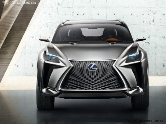 造型前卫 雷克萨斯LF-NX概念车官图发布