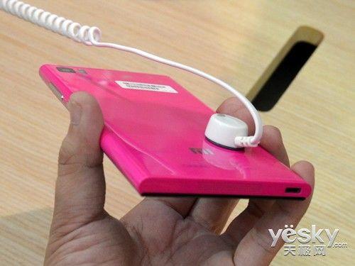 小米3手机机身厚度为8.1毫米