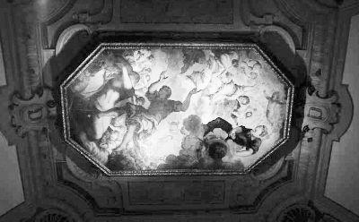 底特律艺术博物馆内丁托列托所绘的天花板